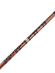 The Two Section Flute Kuzhu,The Student Bamboo Flute Single Pin Brass