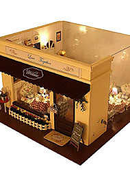 Diy House Melody Of Love Cafe House Model House Villa Assembled Diy Manual Hot Style Good Gifts