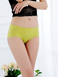 Women's Sexy Seamless Ice Silk Panties Underwear
