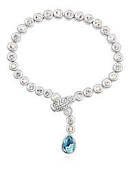 Damen Armbänder Charme Alluminium Kristall