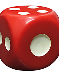 Royal St Selling Large Dice Resin Materials Environmental Protection And Durable Entertainment Play Regular 30 Mm White