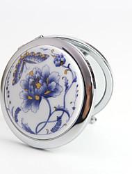 Compacts(Bleu)Vintage Theme-Non personnalisée 7*7*1.5cm Acier inox / Céramique