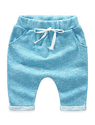 New Fashion Kids Summer Children Clothing Boy Candy Color Cotton Pants