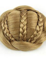 mariée crépus or bouclés europe cheveux humains capless perruques chignons sp-189 1011
