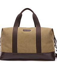 Men Canvas Formal / Sports / Casual / Outdoor Travel Bag Green / Gray / Black / Khaki