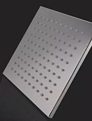 monochrome conduit pomme de douche buse supérieure jet de douche (monochrome) (8 pouces)
