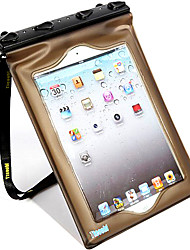 Bolsas Impermeáveis / Caixas secos Unissex iPad / Impermeável Mergulho e Snorkeling Preta PVC-TTeoobl