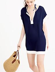 Vêtement couvrant Aux femmes Couleur Pleine / Sport Bandeau Polyester