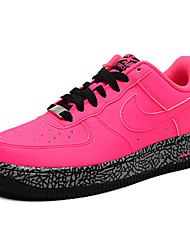 Nike Air Force 1 Round Toe / Sneakers / Running Shoes / Casual Shoes / Skateboarding Shoes Women's Wearproof Red / BlackRunning/Jogging /