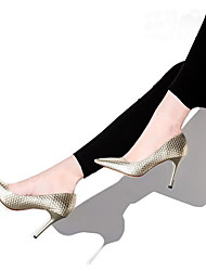 Women's Spring / Fall / Winter Heels / Pointed Toe / Closed Toe Leather Wedding / Dress / Casual Stiletto Heel Others Multi-color