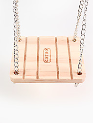 o balanço do sino, anéis de madeira hamster, 1 peça