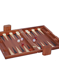 "Royal St Selling 15 ""Wooden BaccaratChess Backgammon Games Acrylic Dice The Surface + Plastic Chess Board (28 * 10 Mm)"