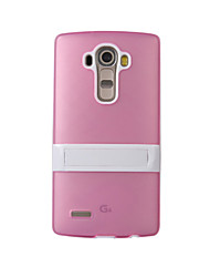 For LG Case Shockproof / with Stand Case Back Cover Case Armor Hard Silicone LG