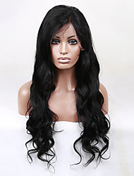 Freeshipping Brazilian Human Virgin Wigs 22inch Body Wave Wigs Human Hair Lace Wigs