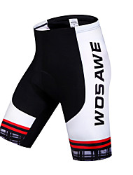 Wosawe® Cycling Padded Shorts Women's / Unisex Breathable / Quick Dry / 3D Pad / Limits Bacteria / Sweat-wicking BikeShorts / Padded