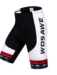 WOSAWE Cycling Padded Shorts Women's Unisex Bike Shorts Padded Shorts/Chamois BottomsBreathable Quick Dry 3D Pad Limits Bacteria
