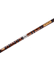 Bitter Bamboo Flute. Two Pairs Of White Brass