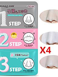 1 Máscara Molhado Others Branqueamento / Minimizador de Poros / Anti-Acne / Cravos / Limpeza Rosto Preta / Branco China BIOAQUA