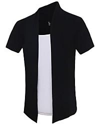 New Summer False Two T-Shirt Men Brand Fashion Casual Luxury T-Shirt Men Tee Shirts