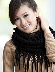 Damen Niedlich / Freizeit Strickware Schal,Infinity-Schal einfarbig Herbst / Winter