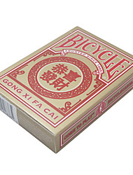 Glückwunsch Fahrrad-Poker-Kartenzauberrequisiten Brettspiel Karte