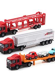 Dibang -1551 nouveaux cadeaux de l'année pour le kit éducatif alliage camion coulissant voiture modèle de jouet pour enfants (2 setspcs)