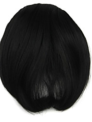 Wig Black 7CM High-Temperature Wire Oblique Bangs Colour 2