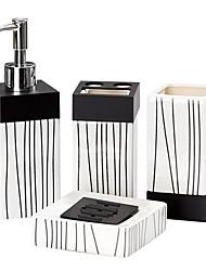 terno tarja casa de banho de quatro peças (forma aleatória padrão)