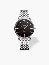 Men And Women Lovers Ultra-thin Quartz Waterproof Fashion Leisure Business