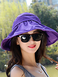 Unisex Casual Summer Empty Top Folding Sun UV Cycling Candy Colors Hat