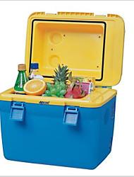 18l geladeira carro caixa de carro mais frio do carro Cooler Box quente portátil mini carro frigorífico 220v rv 12v