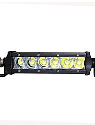 """1pcs de style kingkong 6 """"9-32V dc 30w CREE LED barre lumineuse pour suv / camion / atv"""