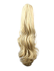 Length Multi-Color Wig 58CM Synthetic Curly High Temperature Wire Scroll Horsetail Color 27H613