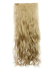 longueur 70cm Lavés europe et les etats-unis style chaud cinq clip clip cheveux cheveux bouclés (couleur 16)
