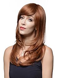 noble longue remy naturelle des cheveux humains main d'onde shaggy liée perruques Emmor -Top
