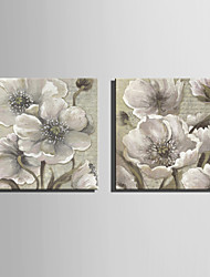 Mini Size E-HOME Oil painting Modern Elegant Flowers Pure Hand Draw Frameless Decorative Painting