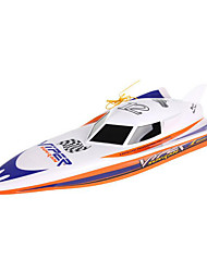 Remote Control Boat,Boat Charging High Speed Dual Motor Toys Series Explosion Models (White)