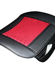 Carbon Fiber Car Seat Cushion 1PCS Black-Red