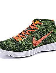 Nike Flyknit Round Toe / Sneakers / Casual Shoes / Running Shoes Men's Wearproof Lace-up / High-Top / BraidedGreen / Gray / Light Blue /