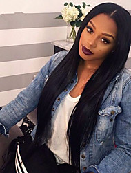 Brazilian Full Lace Human Hair Wigs For Black Women Glueless Lace Wigs With Baby Hair Straight Texture