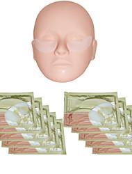 10 Pcs PILATEN Crystal Collagen Eye Pad Patch Mask Anti Dark Circle Wrinkles
