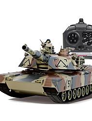modelo de control remoto inalámbrico de tanques militares de control para jugar a jugar coche de juguete para niños