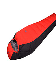 Sleeping Bag Mummy Bag Single 0°C Duck Down 1500g 210X70 Camping Breathability / Cold Weather Mountain