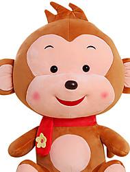 Fubao mono mono mascota del zodiaco del mono de marionetas muñeca juguetes de peluche de seguridad de 50 cm de color caqui