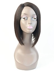 Fashion 8Inch Machine Made Wig Human Hair Short Bob Lace Wig