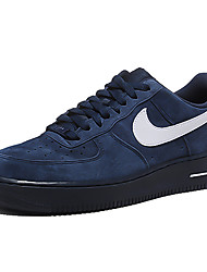 Nike Air Force 1 Round Toe / Sneakers / Running Shoes / Casual Shoes / Skateboarding Shoes Men's Wearproof Low-Top Dark Blue