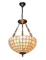 16 inch Retro Tiffany Pendant Lights Shell Shade Living Room Dining Room light Fixture