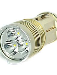 6000lm 3x xm-l t6 conduit 18650 lampe de chasse aux projecteurs de la torche de lampe tactique