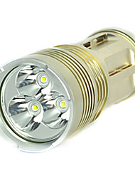 6000Lm 3x XM-L T6 LED 18650 Tactical Flashlight Torch Spotlight Hunt Lamp