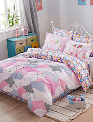 Yuxin®Fashion Mix and Match a Family of Four Cotton Twill Linen Quilt Kit  Bedding Set